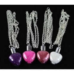 Fairy Dust Heart Pendants
